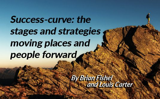 Success-curve: the stages and strategies moving places and people forward