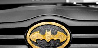 car superhero symbol batman