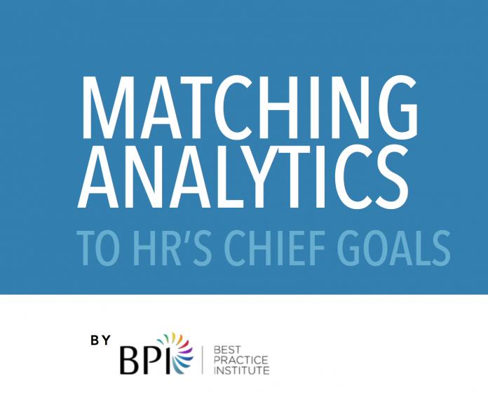 Matching Analytics to HR Chief Goals