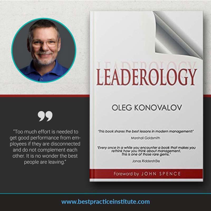 "Leaderology: ""This book shares the best lessons in modern management!"" By Oleg Konovalov. Best Leadership Books"