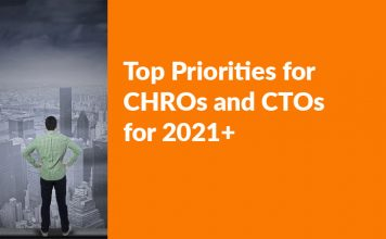 Top Priorities for CHROs and CTOs for 2021+